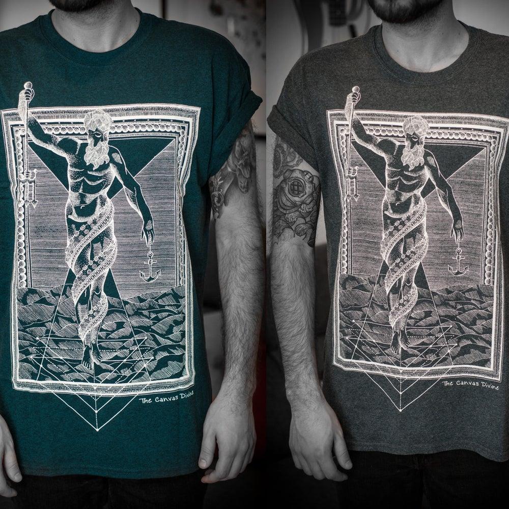"Image of Shirt - To The Water   ""midnight"" & ""dark-heather"""