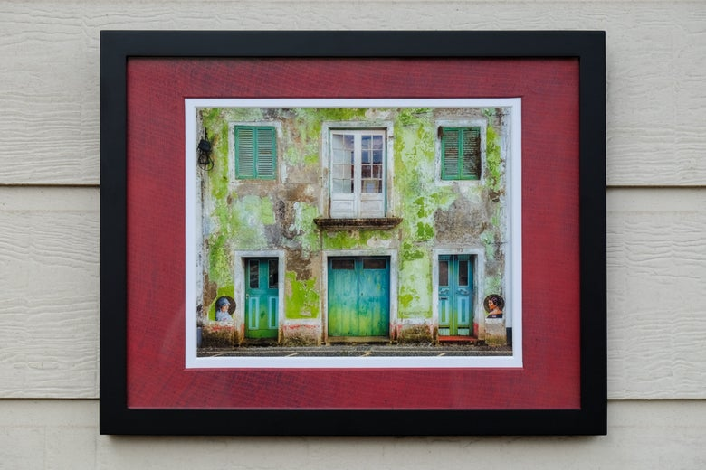 Image of Memories in Horta (Giclée fine art print)