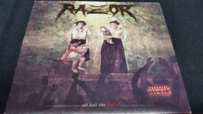 Image of RAZOR - all hail the RazoR CD