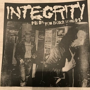 """Image of INTEGRITY Piss Off Flexi 7"""" TEST PRESS"""