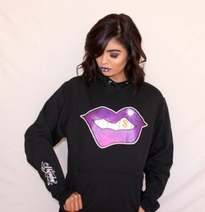 Image of Galaxy Hu$tle Lips Hoodie