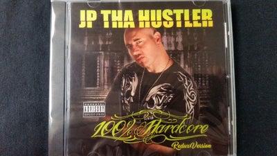 Image of JP THA HUSTLER- 100% Hardcore Cd