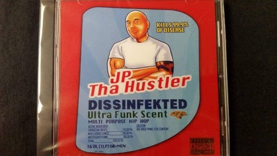 Image of JP THA HUSTLER- Dissinfekted cd