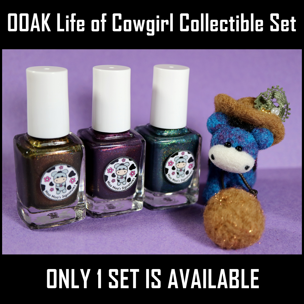 Image of OOAK Life of Cowgirl Collectible Set