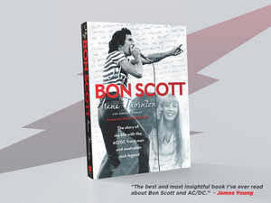 Image of 'My Bon Scott' soft cover book