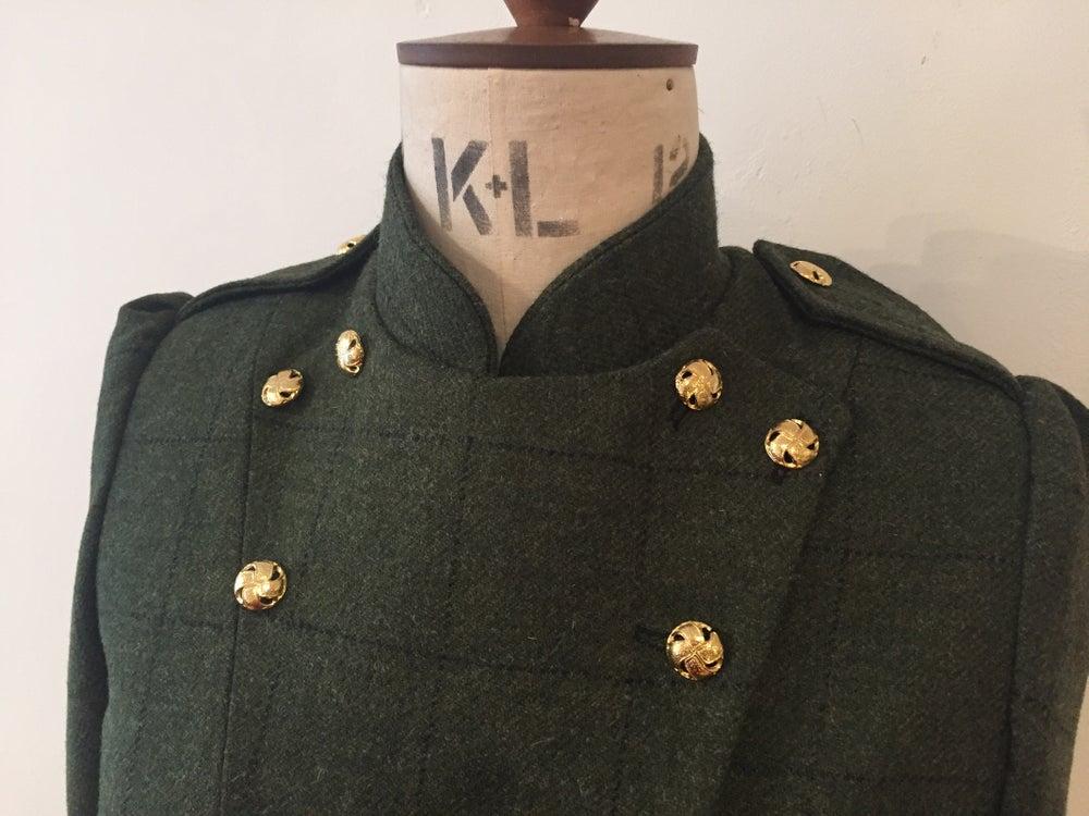 Image of Tweed military fencing jacket