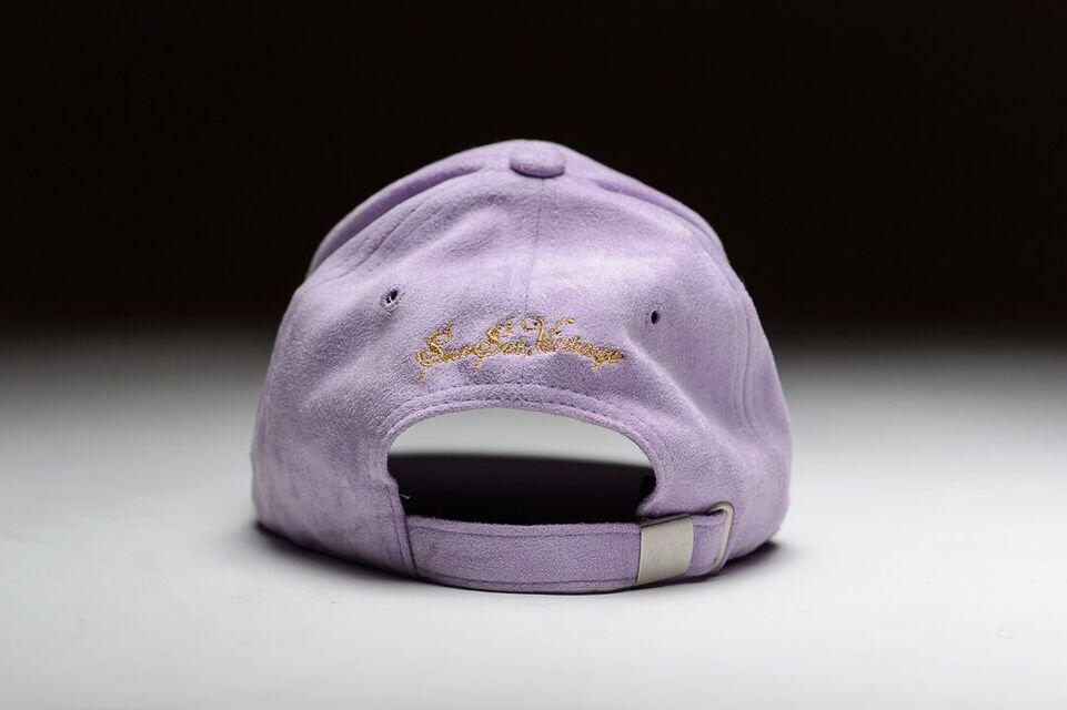 Image of OLD MONEY SUEDE CAP -Prince Purple
