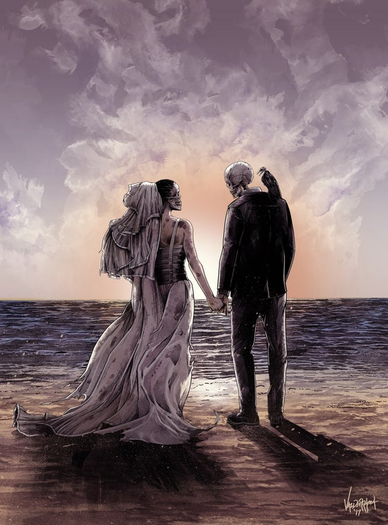 "Image of ""Til Death Do Us Part II"" - Original Concept"