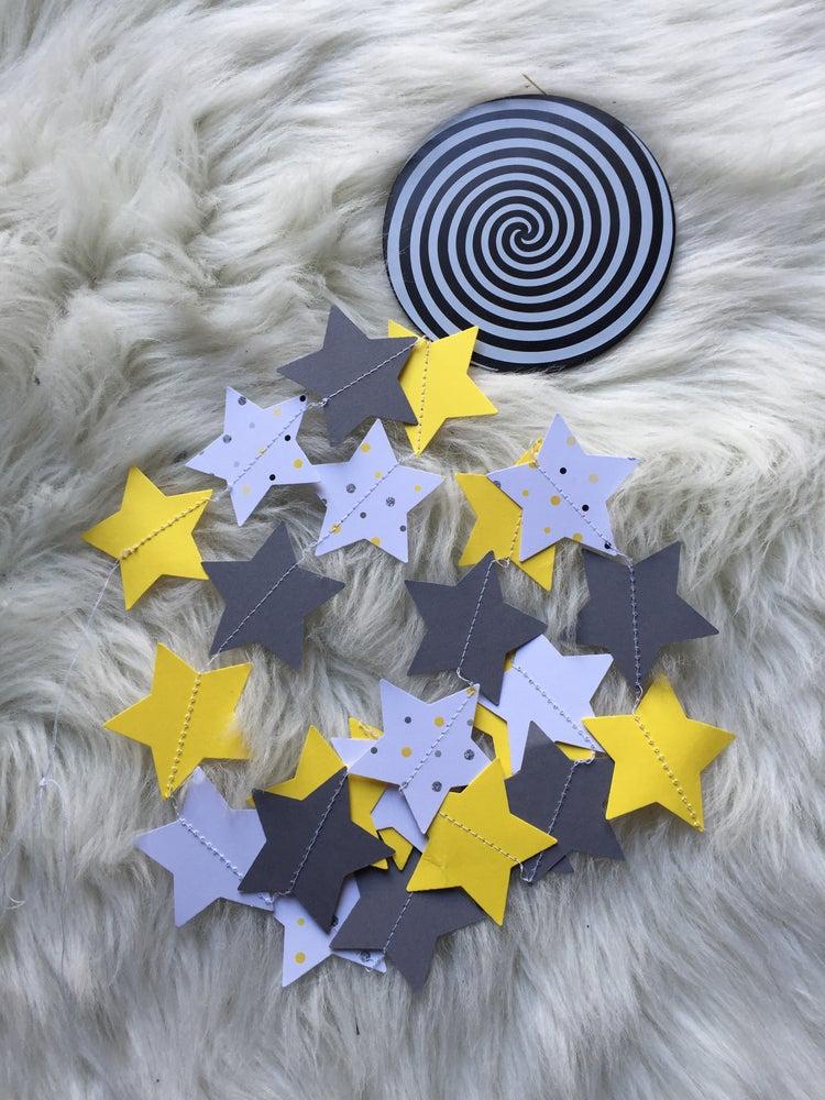 Image of Guirlande étoiles, jaunes