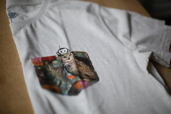 Image of NEW Monkey Climber Night Owl pocket tee