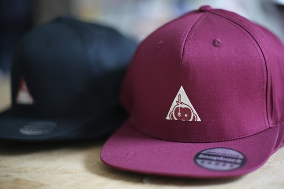 Image of NEW Monkey Climber Triangle Logo snapback
