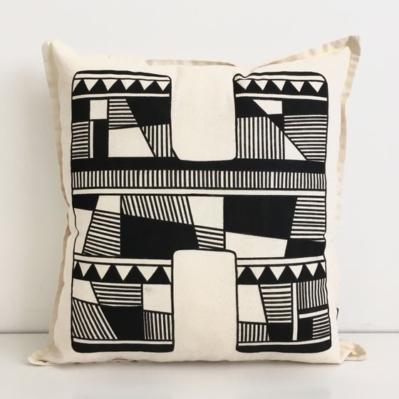Image of Large Initial Geometric Cushion