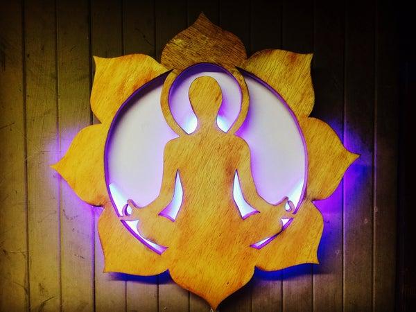 Image of Meditating Lotus L.E.D.