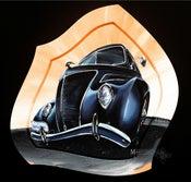 Image of 37 Ford Tudor Sedan Original Painting