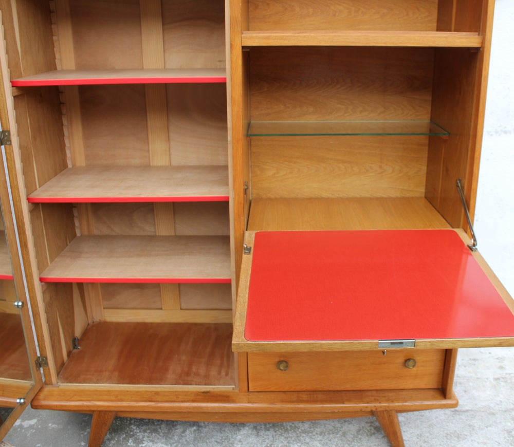 meuble secr taire vintage fibresendeco vannerie artisanale mobilier vintage. Black Bedroom Furniture Sets. Home Design Ideas