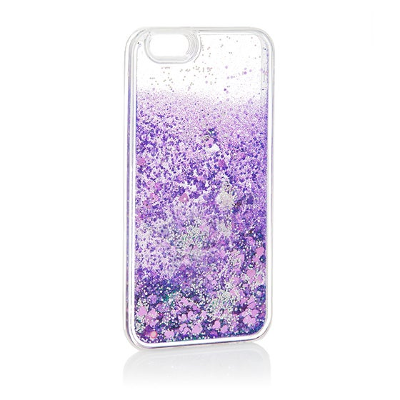 Image of Liquid Glitter iPhone 6 6s Case Purple