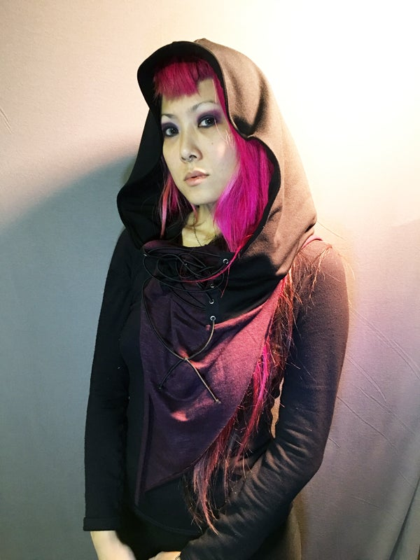 Image of Hooded Scarf