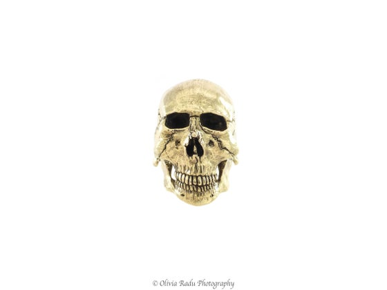 Image of Skull ring - 18k