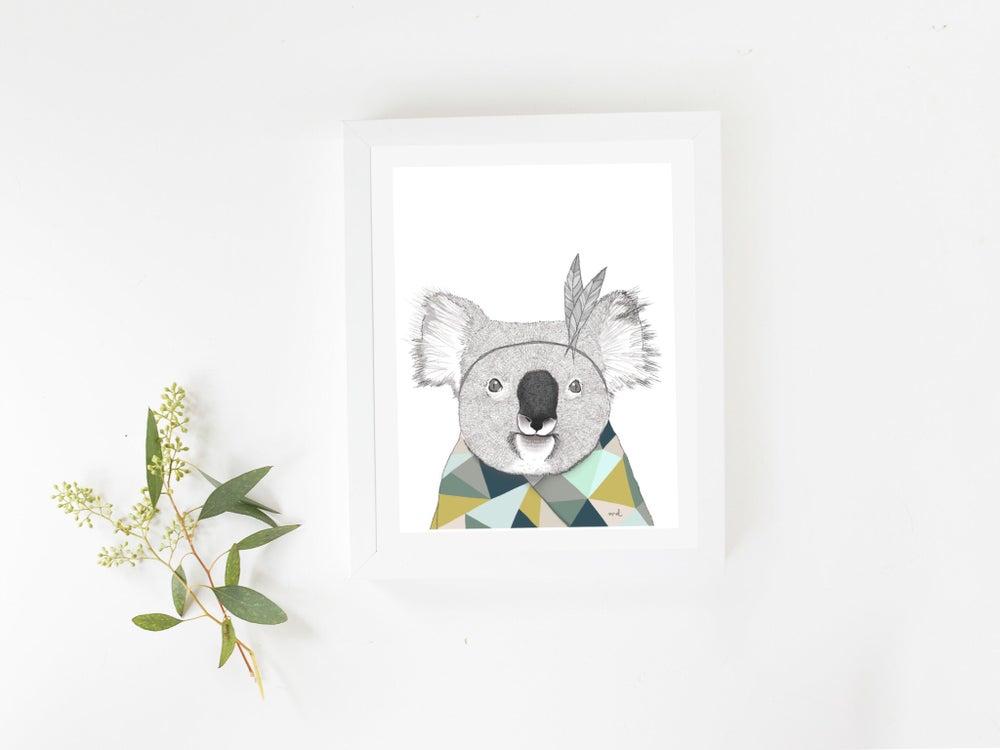 "Image of Affiche A4 «Koala"" SOLDE -30%"