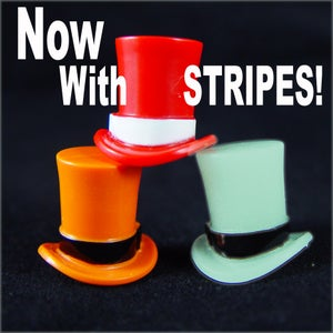 Image of New Striped Top Hats!