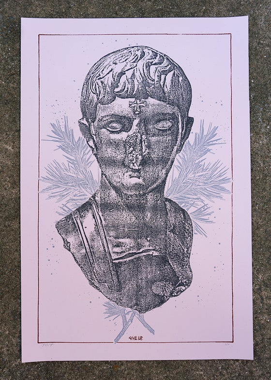 Image of 'deface/destroy' print