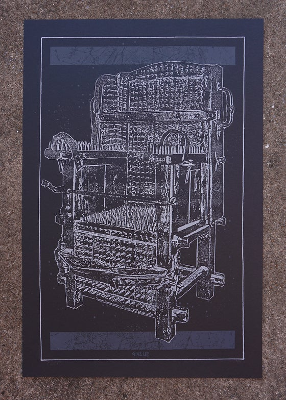 Image of 'mortal throne' print