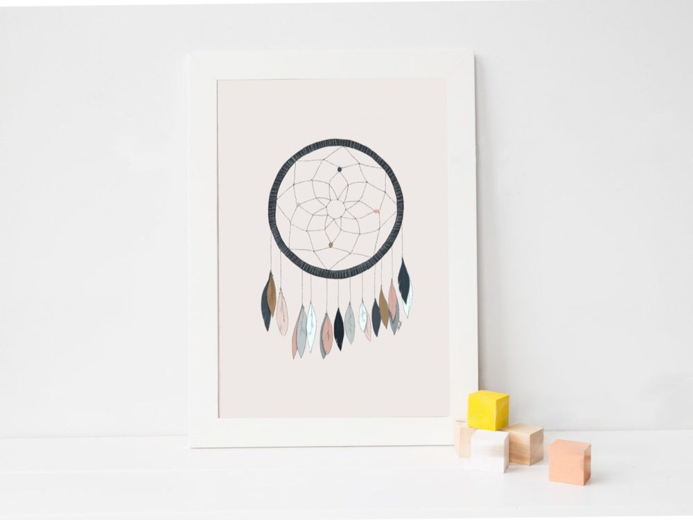 Image of Affiche Dreamcatcher A3