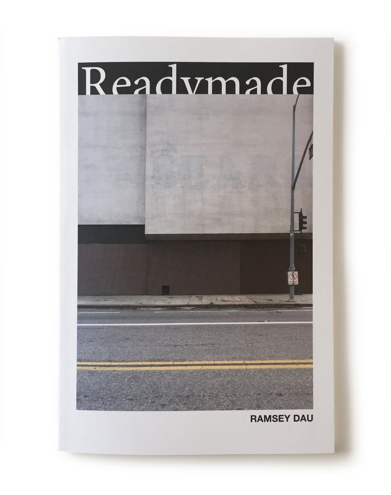 "Image of Ramsey Dau - ""Readymade"" Photography Book"