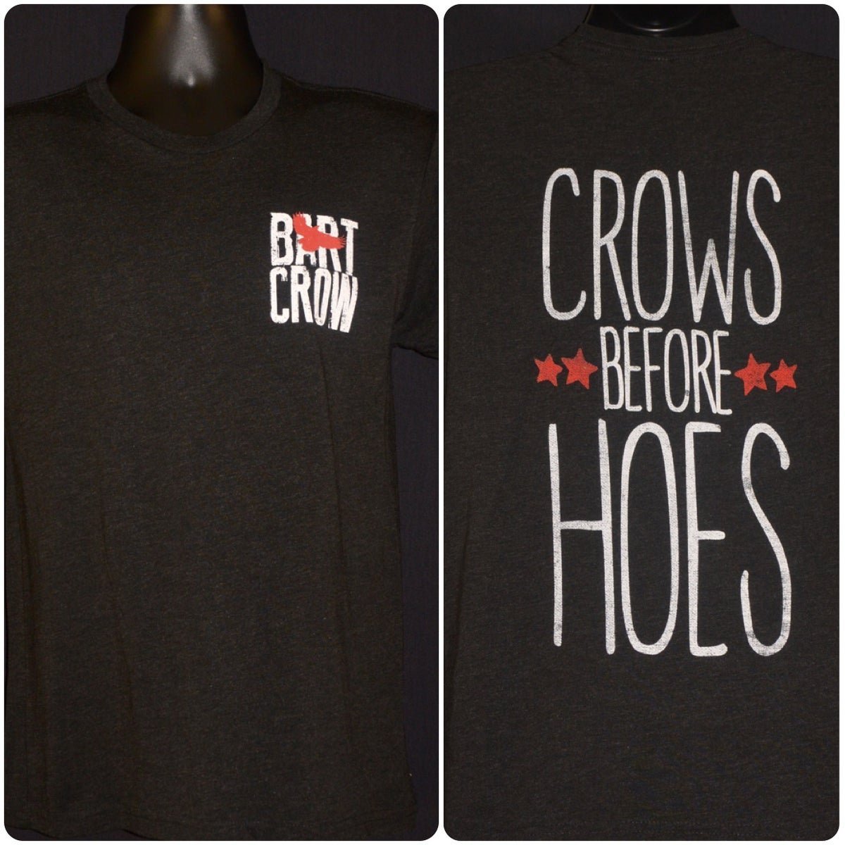 Image of Crows Before Hoes Tee
