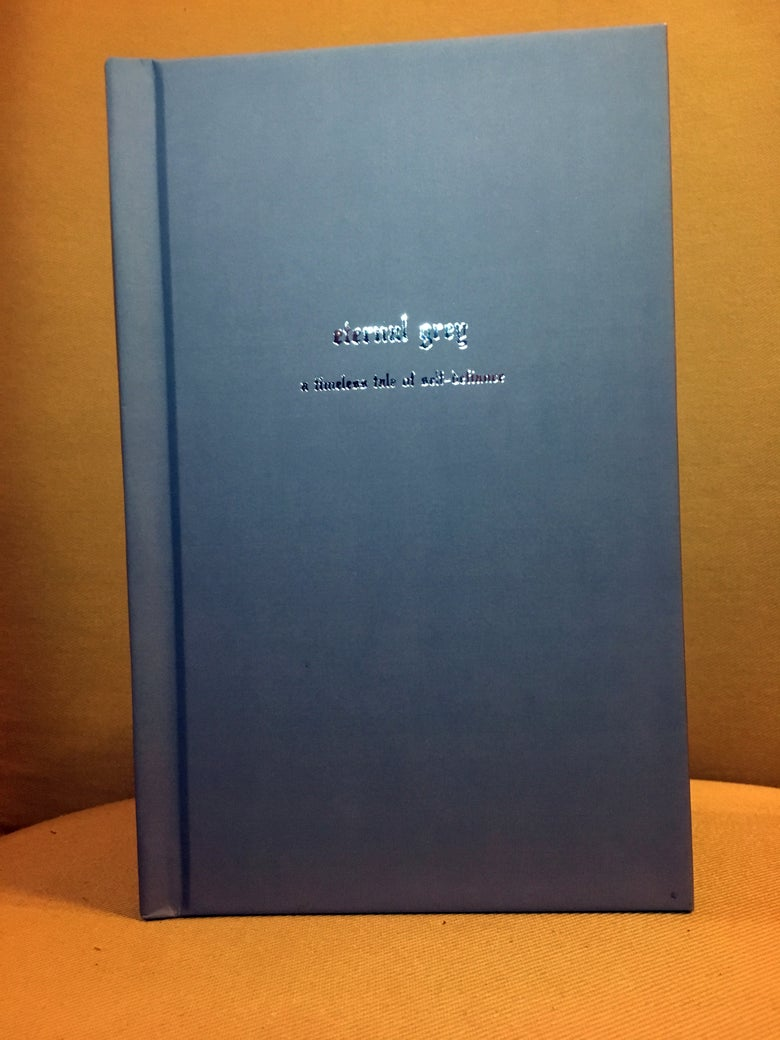 Image of ETERNAL GREY LYRIC BOOK (HARDCOVER)