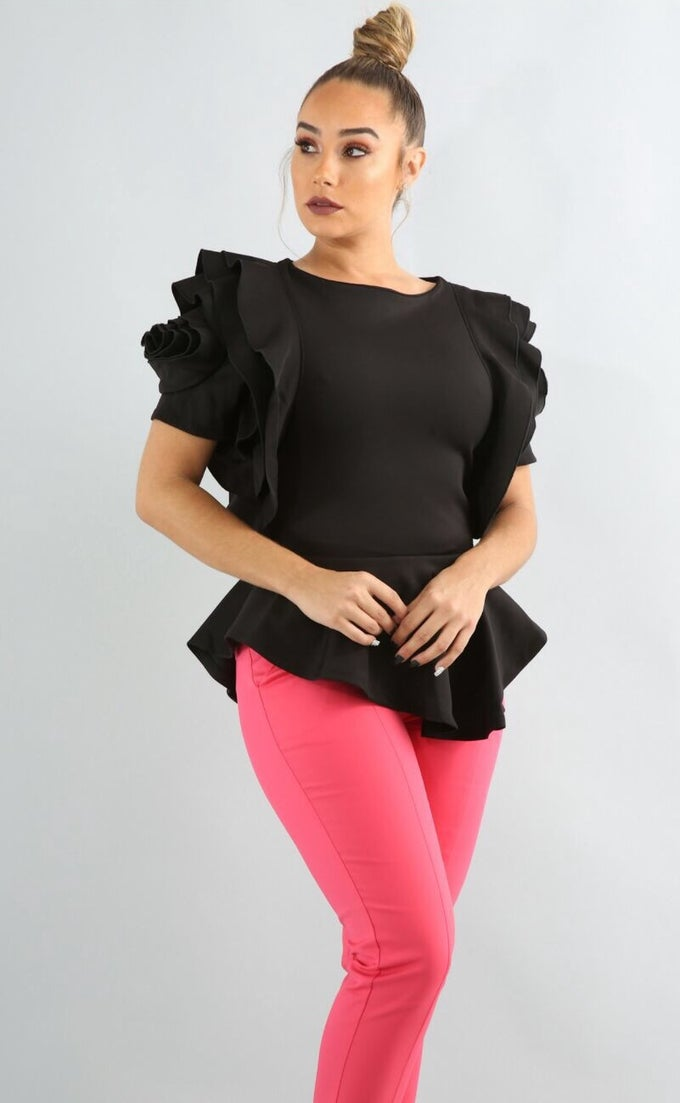 Image of Rose shoulder blouse