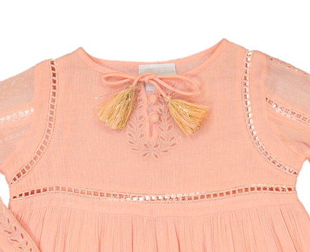 Image of DREAM DRESS-Peach