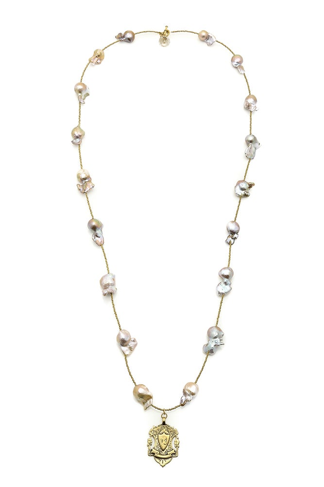 Image of Hefty Spacer Necklace