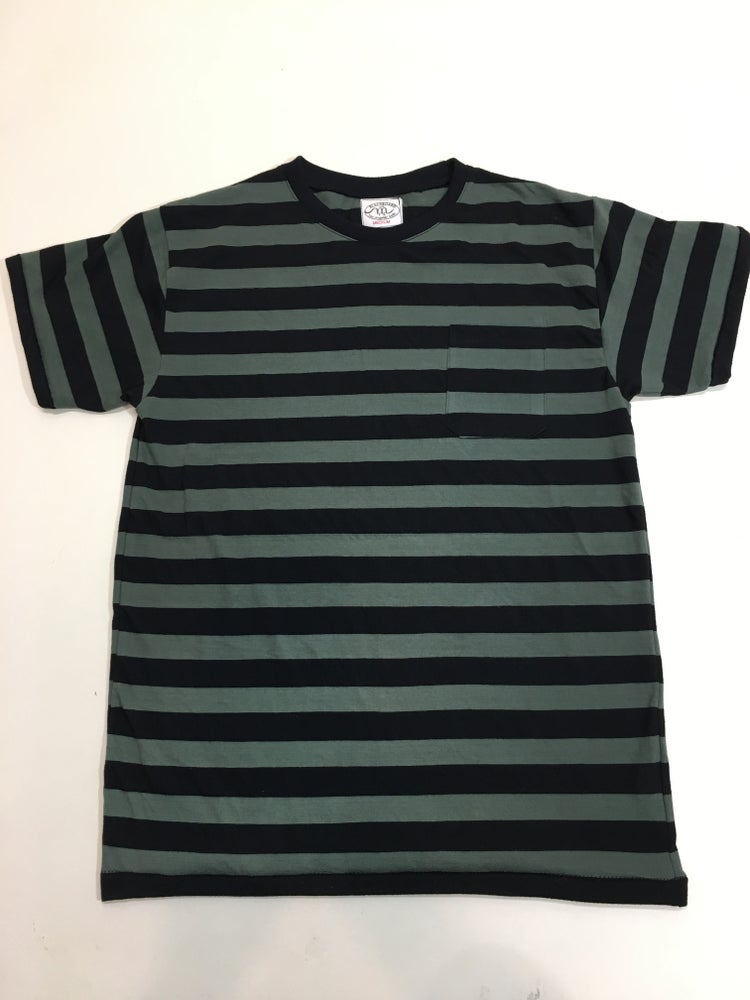 Image of Striped Short Sleeve T-Shirt