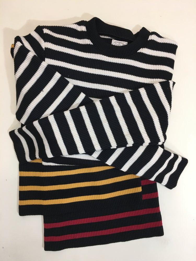 """Image of Motorcycle Sweater 1"""" Stripe"""