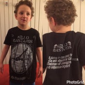 Image of Hello Bastards - Sin Fronteras Tshirt (only a few sizes left)