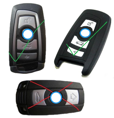 Key Fob Parts Silicone Covers Deautokey