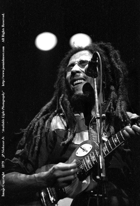 Image of Original 1979 Bob Marley Limited Edition Fine Art Print