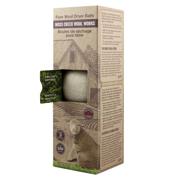 Image of 1 Barn Box of 3 Wool Dryer Balls (MC1000)