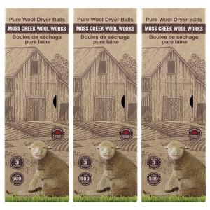 Image of Barn Box Set of 9  Wool Dryer Balls (MC1000)