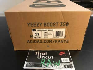 "Image of adidas yeezy boost 350 v2 ""core black/red"", ds"