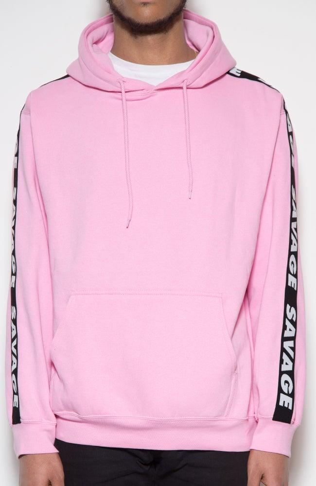 Image of Savage 90's vibes hoodie Soft Pink