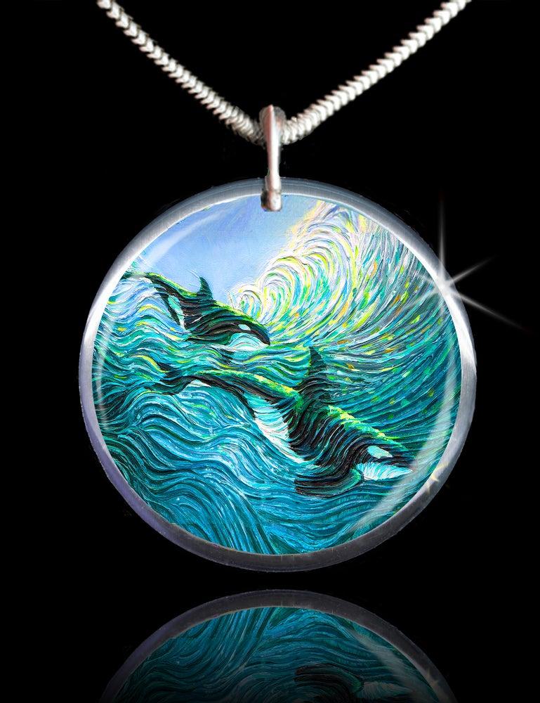 Image of Orca Healing Energy Pendant