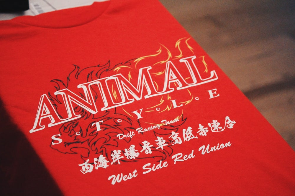 Image of West Side Red Union Tee