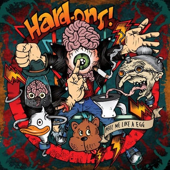Image of Hard-Ons - Peel Me Like A Egg LP