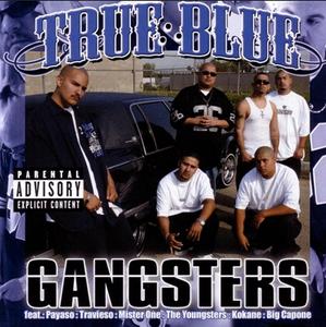 Image of True Blue– Gangsters cd
