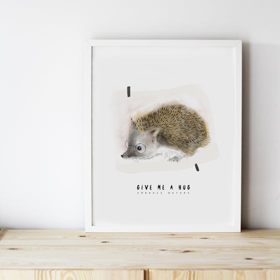 Image of ART PRINT | HEDGEHOG