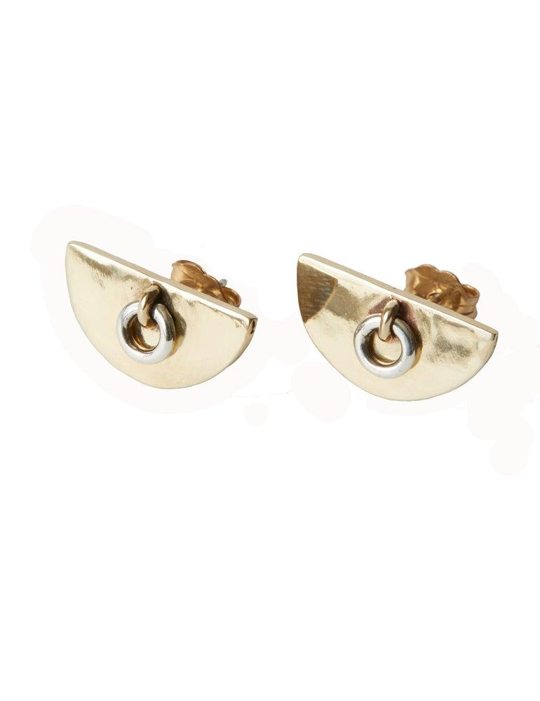 Image of Door knocker earrings