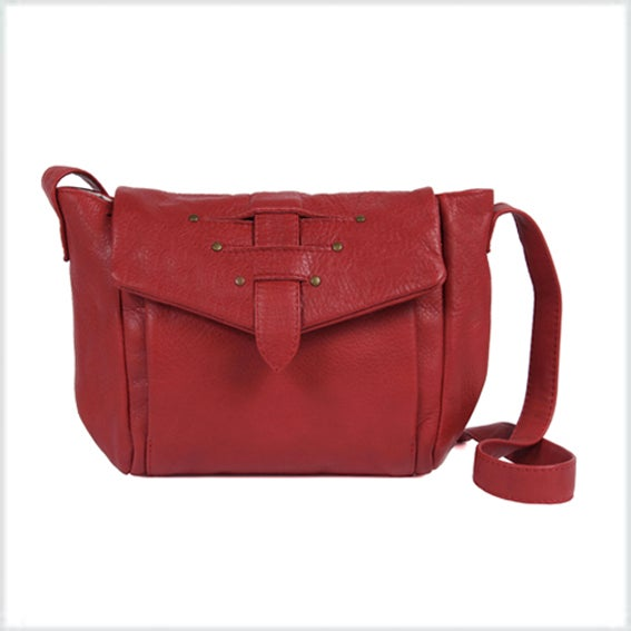 Image of -30% <br>Cala Moli cuir Rouge 149€