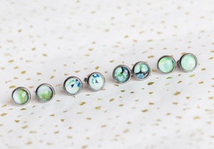 Image of Greenery 8mm Stud Collection